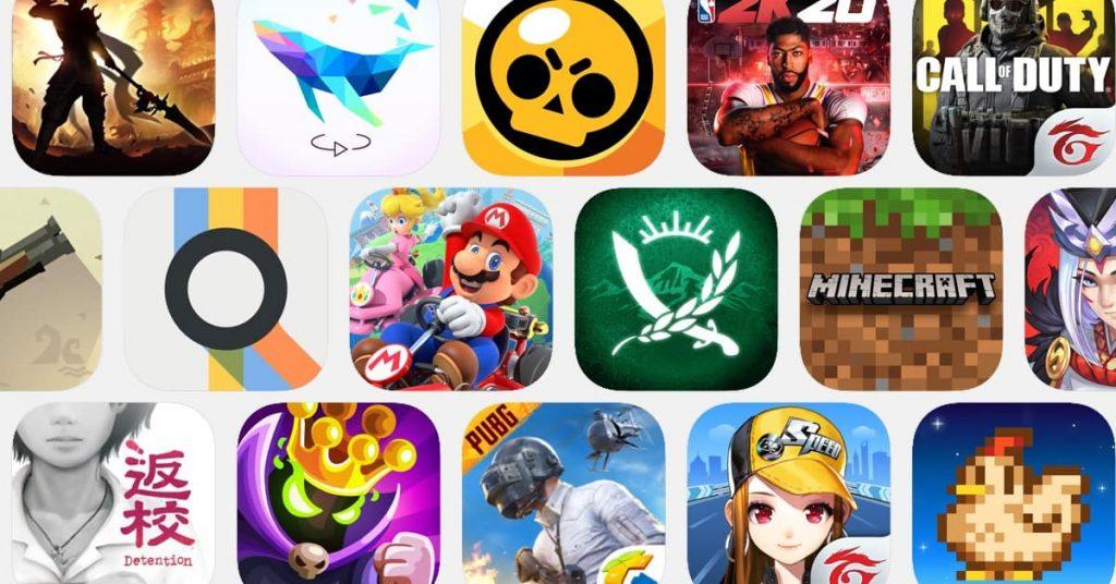 各種遊戲租用不同配置服務器